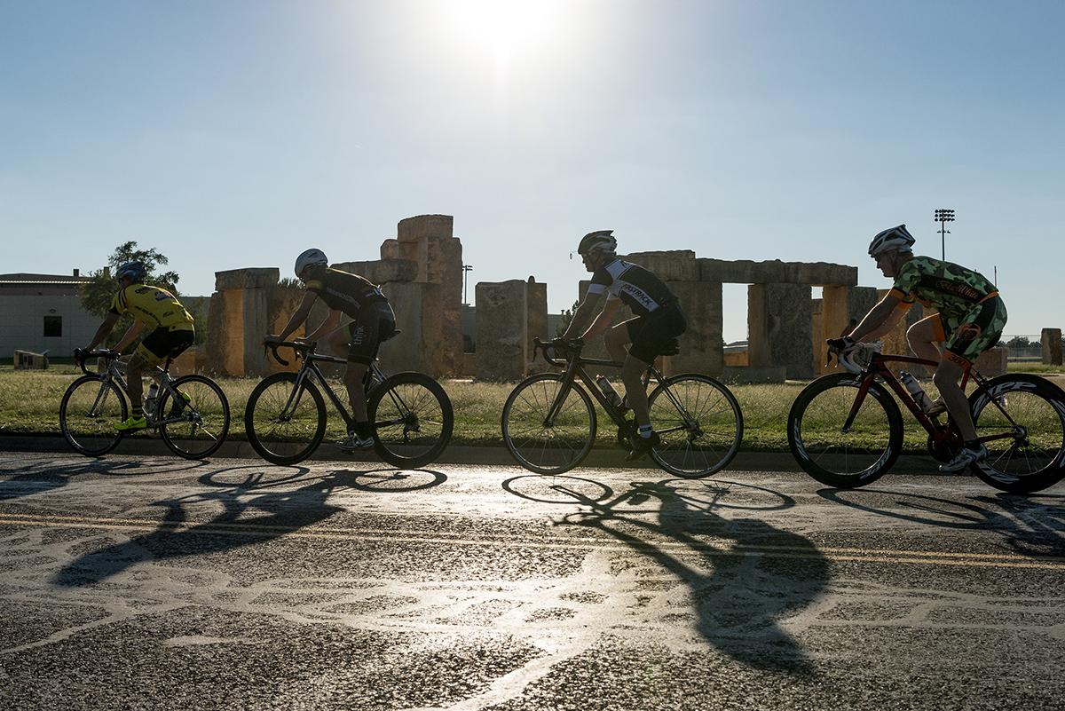 Bike trail in Odessa